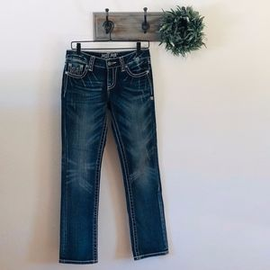 NEW Miss Me M Series Straight Jeans 27